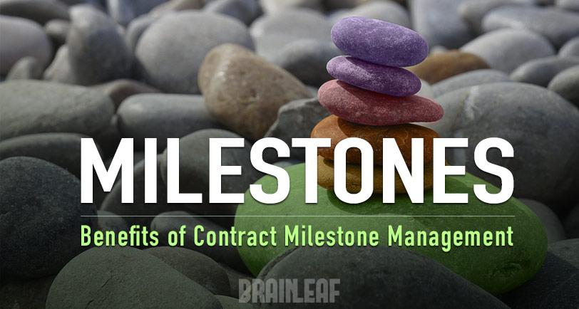 Contract milestones